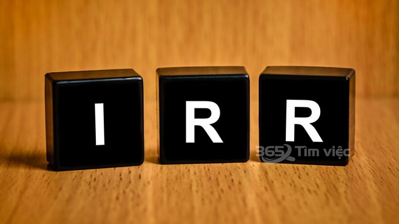 IRR được sử dụng để làm gì?