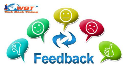 feedback là gì tác dụng và công dụng?
