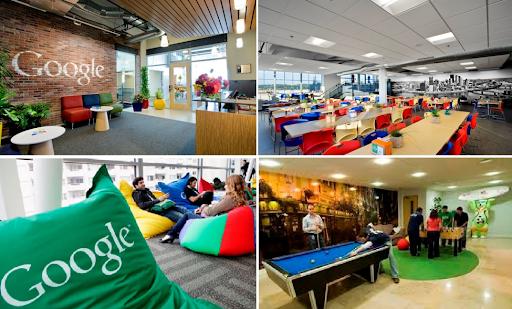 Bạn có biết Google là một trong các công ty top đầu có môi trường làm việc lý tưởng nhất không?