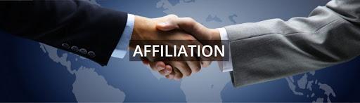 Ứng dụng của affiliation được thể hiện trong ứng tuyển