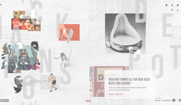 Xu hướng thiết kế bố cục bất đối xứng mang lại sự mới mẻ cho website
