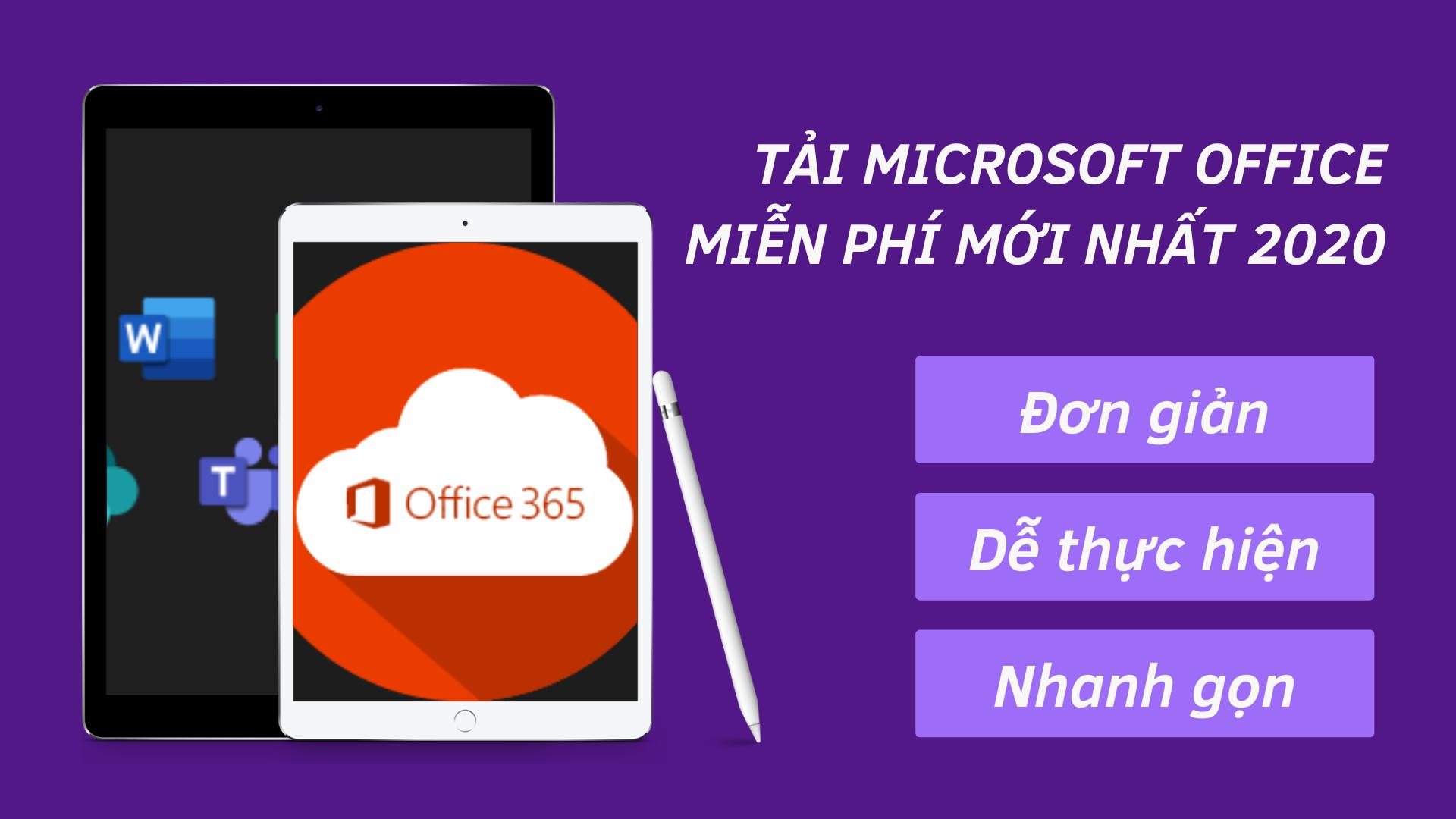 Tải Microsoft Office