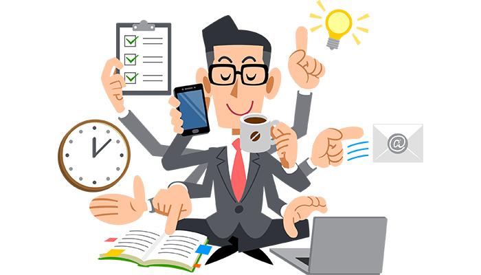 năng suất làm việc của nhân viên