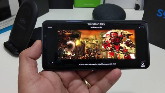 Galaxy S9 cho trải nghiệm chơi game mượt, xử lý đồ hoạ đẹp mắt